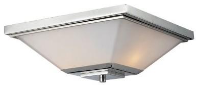 Z-Lite Affinia 2-Light Flush Mount 602F - 13.75W in. modern-bathroom-lighting-and-vanity-lighting