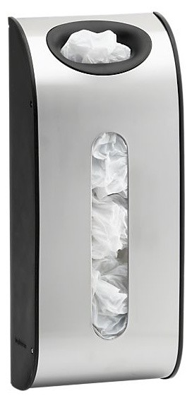 simplehuman® 2.3-Gallon Grocery Bag Holder modern-storage-and-organization