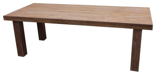 Loft Dining Table in Reclaimed Wood Modern Dining  : modern dining tables from www.houzz.com size 640 x 310 jpeg 23kB