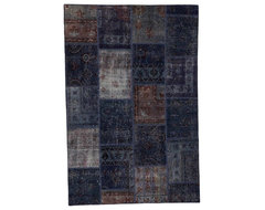 Patchwork Grey Without Boarders eclectic-rugs