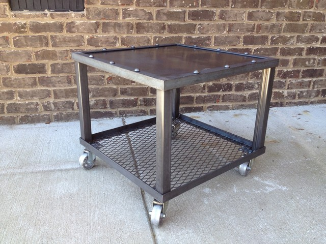 GRID IRON SERIES modern-side-tables-and-end-tables