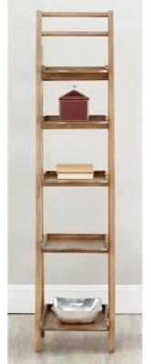 Safavieh Asher Leaning Etagere - Oak modern-bathroom-storage