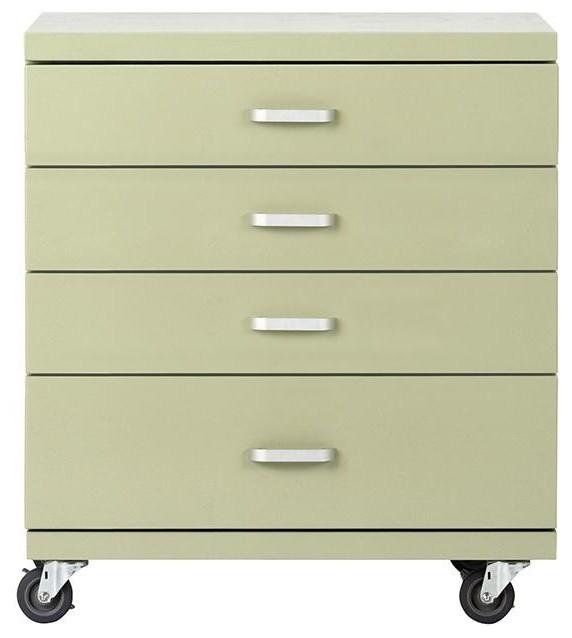 Martha Stewart Living™ Garage Under Bench 4-Drawer Storage - Traditional - Storage Cabinets