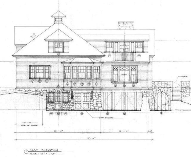 Cape Cod Architect Builder: Exterior Elevation