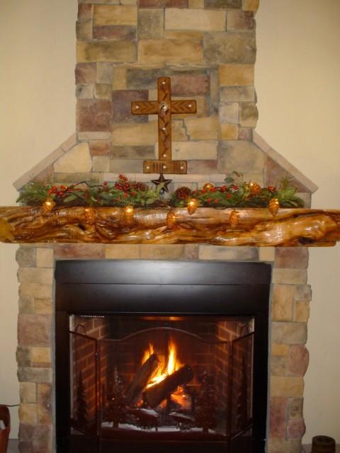 LeBlanc Home Rustic Fireplace Mantels Albuquerque
