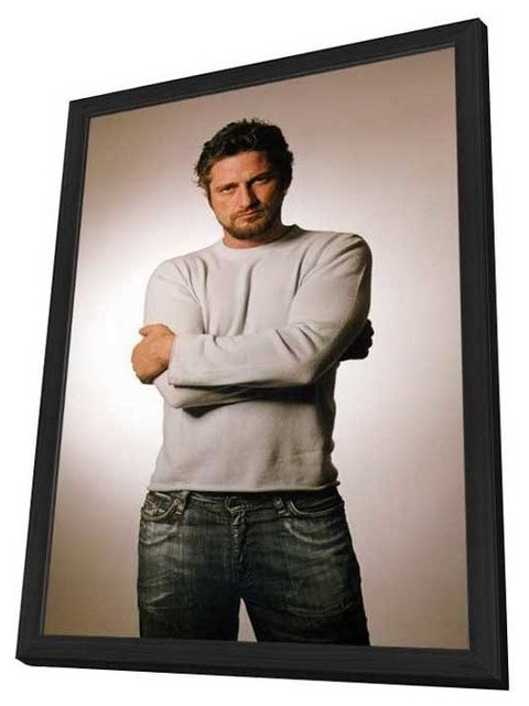 Gerard Butler 27 x 40 Movie Poster - Style A - in Deluxe Wood Frame prints-and-posters