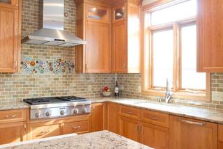 Hendrickson Kitchen Eclectic Kitchen Minneapolis By Mercury Mosaics And Tile