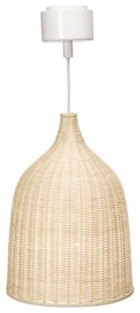"LERAN Pendant Lamp - 11"" contemporary-pendant-lighting"