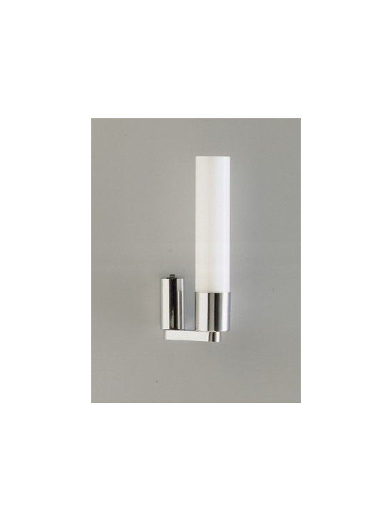 Ekus Uno | Bathroom & Mirror Sconce - We love the slim profile of this sconce for a contemporary bath, great for vanity mirror lighting or as a traditional sconce.
