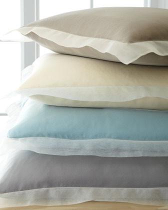 Organza European Sham traditional-pillowcases-and-shams