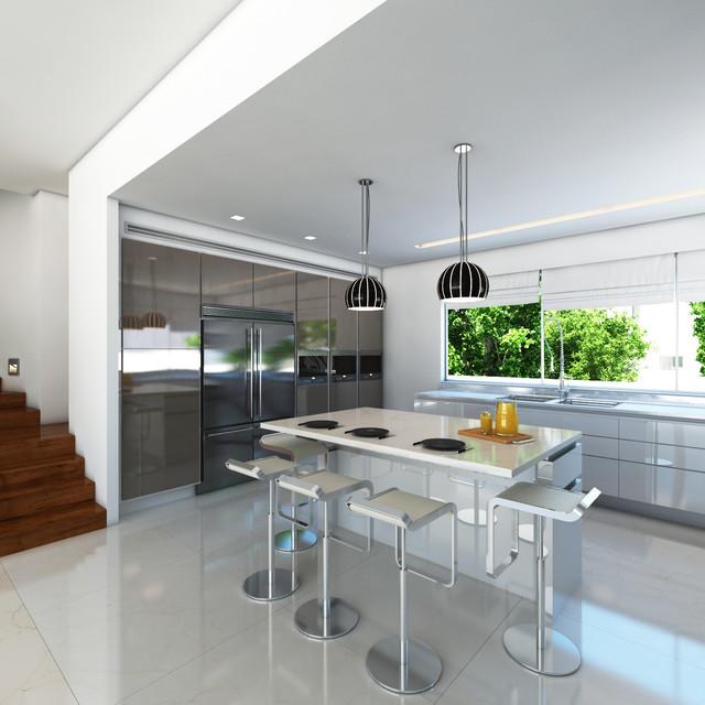 Silicon Valley Home contemporary-rendering