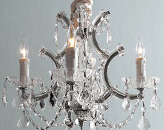 """""""Maria Theresa"""" Chandelier traditional-chandeliers"""