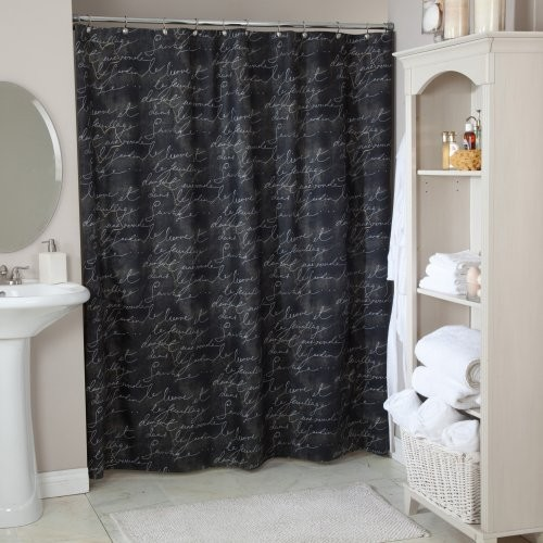 Pen Pal Blackbird Shower Curtain Contemporary Shower Curtains By Hayneedle