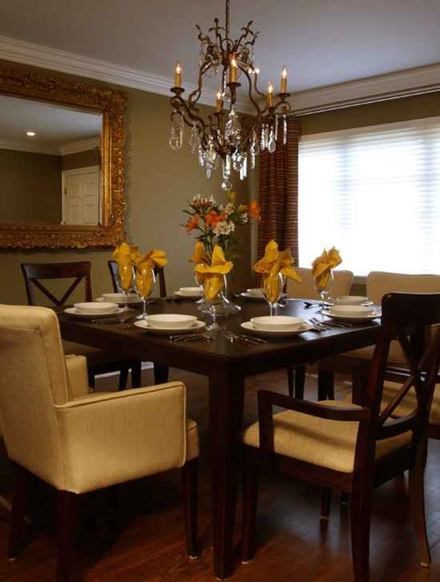 Miami Shores traditional dining room
