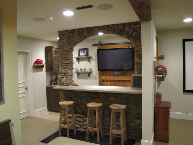 Liberty Park Basement Remodel traditional-family-room