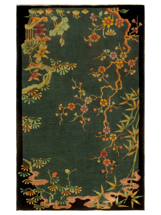 Timeless Chinese Rugs - A Chinese Deco Rug BB4932
