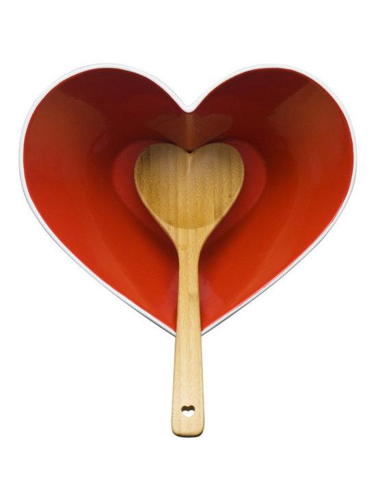 Sagaform Heart Bowl with Ladle -