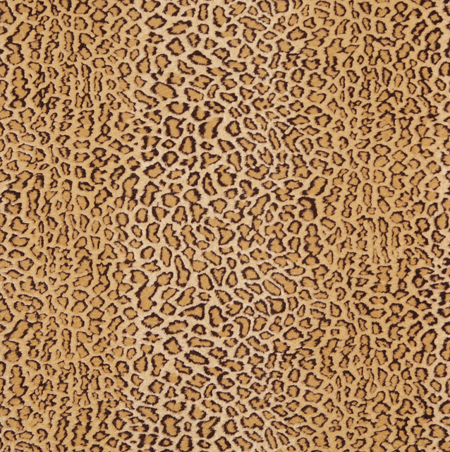 E411 Leopard Animal Print Microfiber Fabric Contemporary Upholstery Fabric Minneapolis
