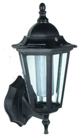 Wall-Mounted Solar Lantern #SO30073 - Modern - Outdoor Wall Lights And Sconces - by Pier Surplus