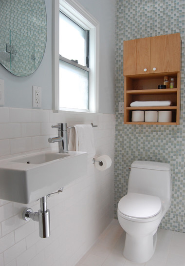 Small San Francisco Bathroom Remodel contemporary bathroom