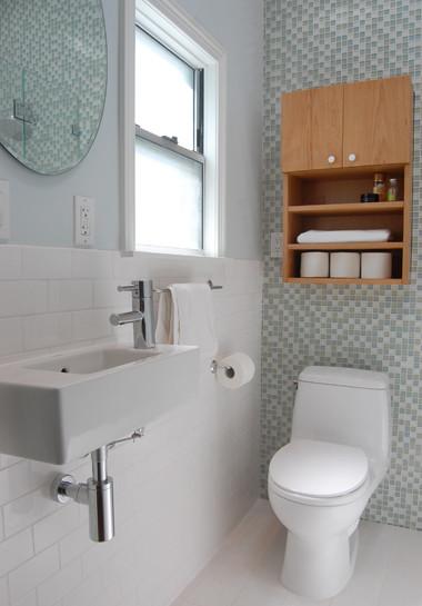 Small San Francisco Bathroom Remodel contemporary-bathroom