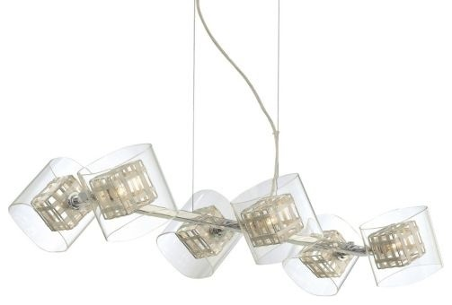 Jewel Box 6-Light Linear Suspension by George Kovacs modern-storage-bins-and-boxes