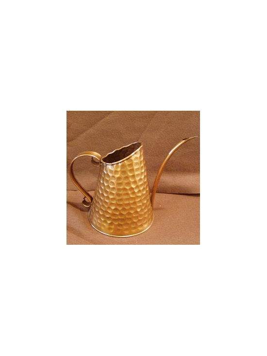 Dainty Copper Watering Can -