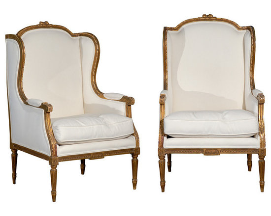 Current Inventory for Purchase - Pair of 19th Century Carved French Chairs