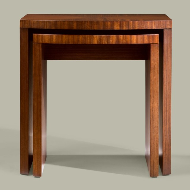 modern glamour clarkson nesting tables traditional-side-tables-and-end-tables