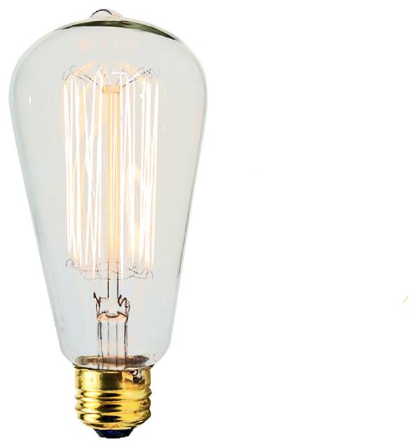 60 Watt Light Bulb Industrial Light Bulbs By Mpdesignshop