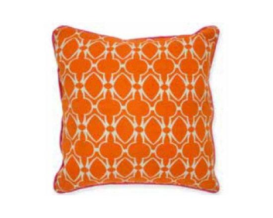 Baja Orange pillow -