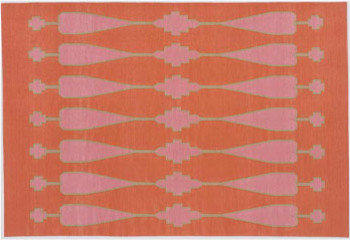 Ama Cotton Flatweave Rug from Madeline Weinrib Atelier eclectic-rugs