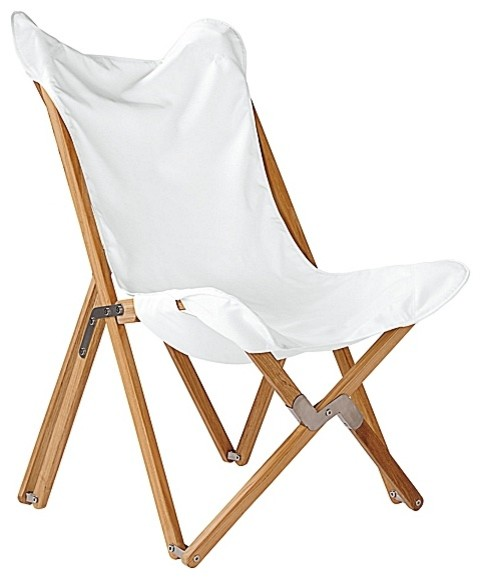 Butterfly Chair White modern outdoor lounge chairs