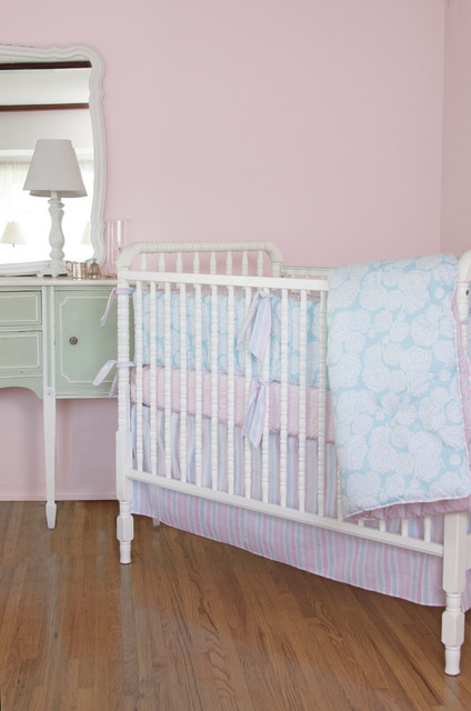 Rose Sea Nursery Crib Bedding contemporary baby bedding