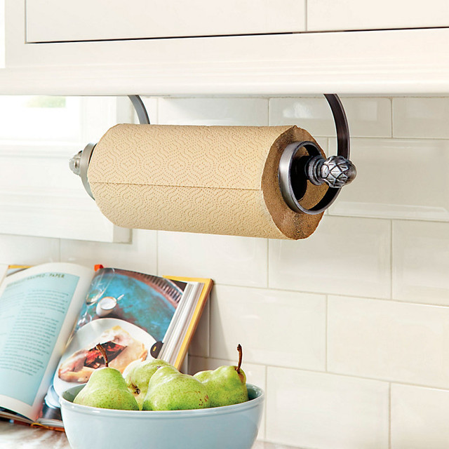 Artichoke Under Cabinet Paper Towel Holder Traditional