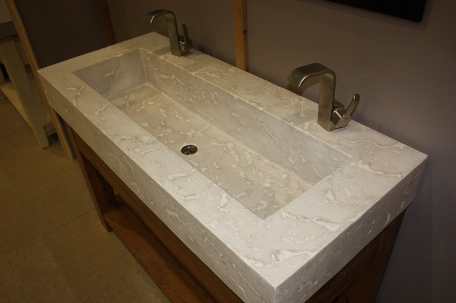 Trough Sink - Contemporary - Bathroom Sinks - toronto - by everGreen ...