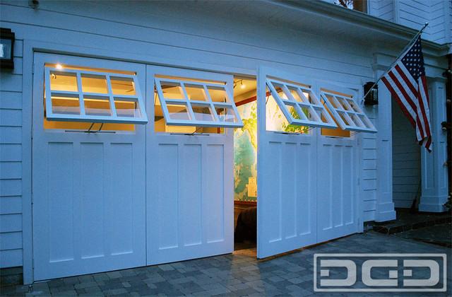 Coastal Custom Garage Door Conversion Carriage Doors For