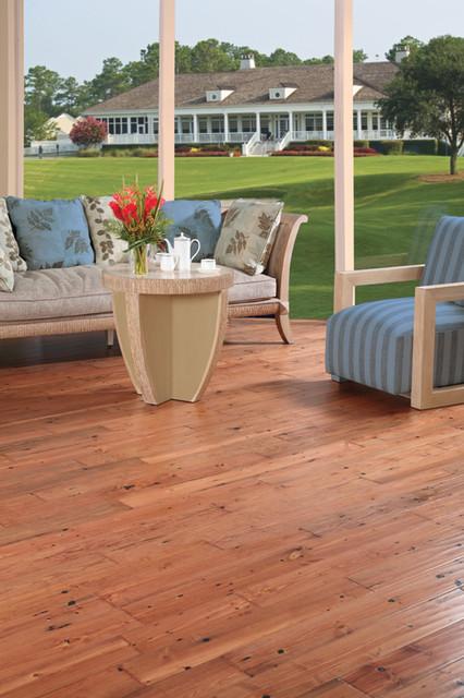 LM Flooring Hand Scraped Pendleton Reclaimed Pine - Praline traditional-wood-flooring