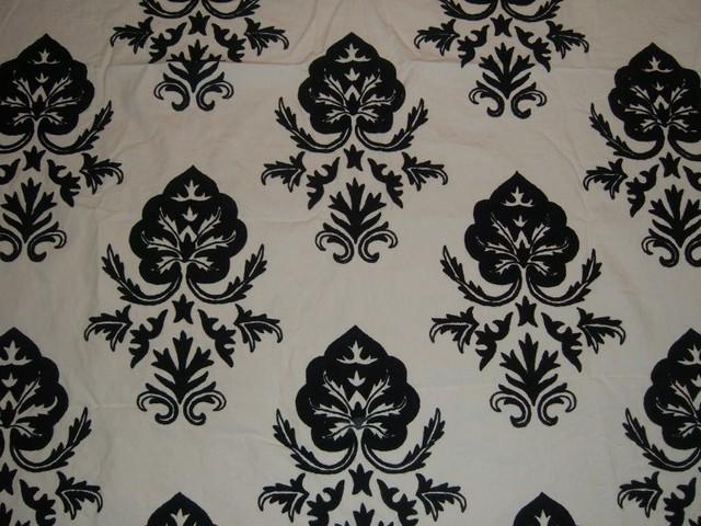 Crewel Fabric Lolita Pearl Glow Cotton craftsman-upholstery-fabric