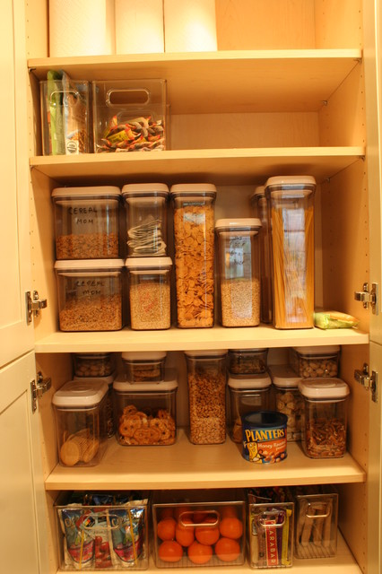Kitchen Storage Ideas - boston - by Mary Porzelt of Boston Kitchen Designs