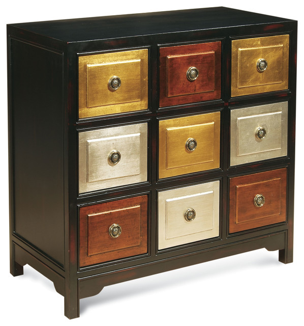 Tic Tac Toe Chest Eclectic Dressers Chests And