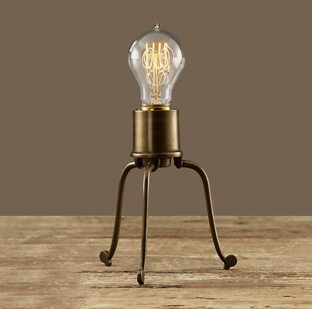 edison light bulb table lamp and edison bulb table lamp. Black Bedroom Furniture Sets. Home Design Ideas