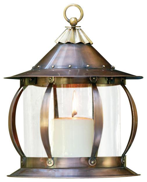 San Simon Lantern Industrial Outdoor Lighting by H