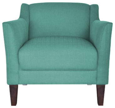 Turquoise Accent Chair Contemporary Armchairs And Accent Chairs By Urba