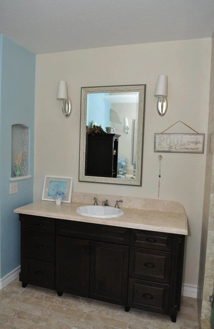 Bathroom remodels by Kitchens Etc. traditional-bathroom-vanities-and-sink-consoles