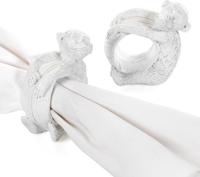 asian napkin rings by Beth Connolly