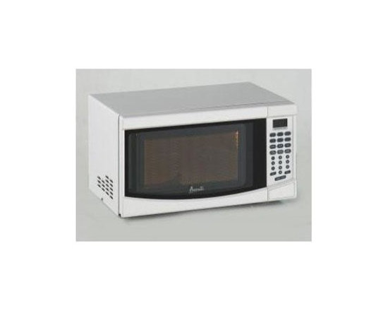 Avanti - 0.7CF 700 W Microwave White Oven Broiler - Model MO7191TW 0.7 Cubic Foot Electronic Microwave with Touch Pad and 700 Watts of Cooking Power