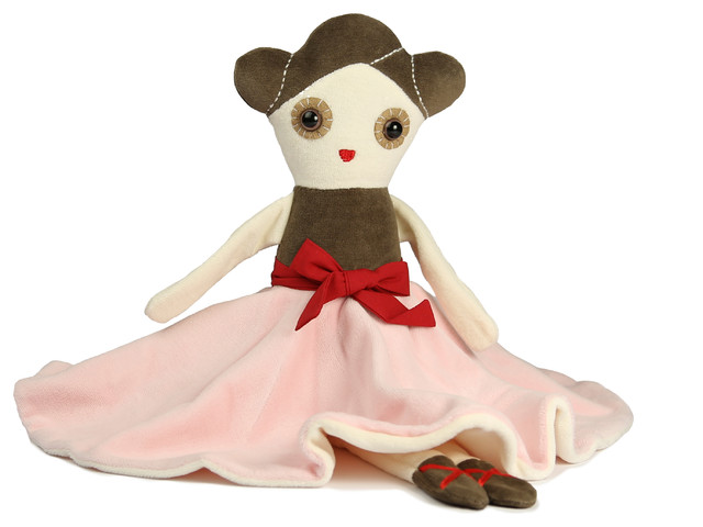 Anna Ballerina Stuffed Toy contemporary-kids-toys