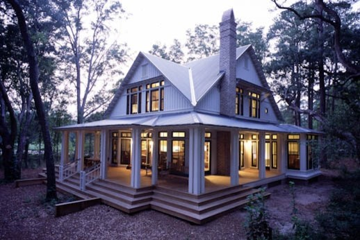 like the wrap around porch with glass doors windows all