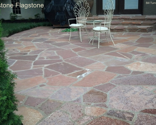 Red Sandstone Flagstone -